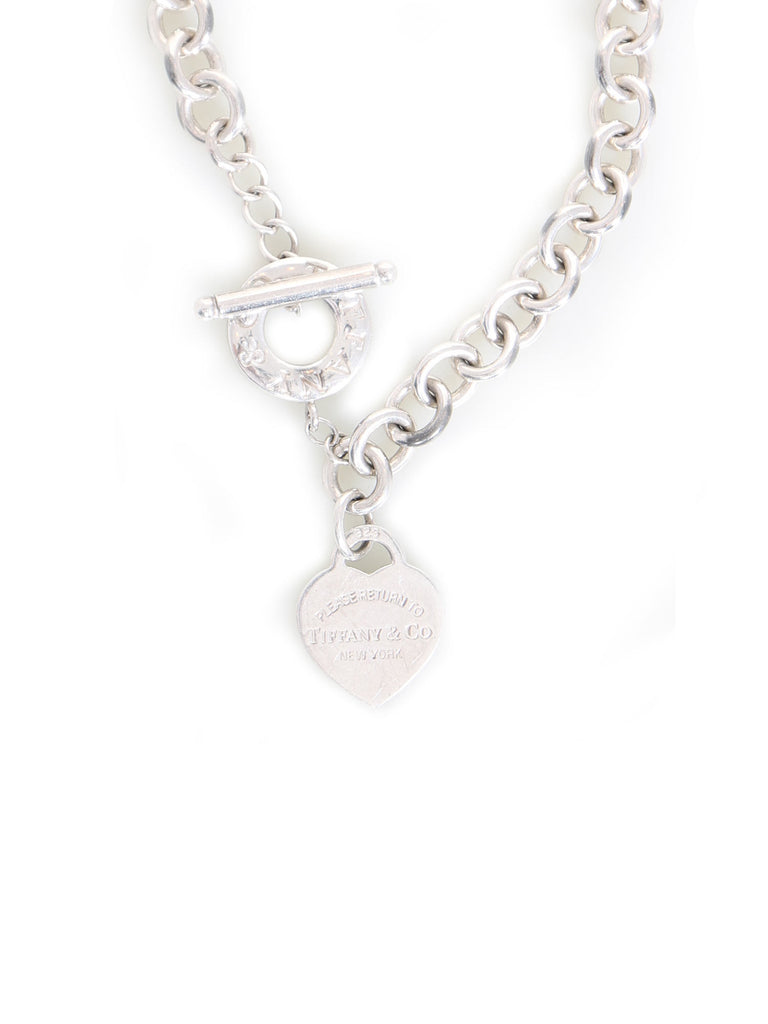 Tiffany & Co. Heart Tag Pendant Necklace