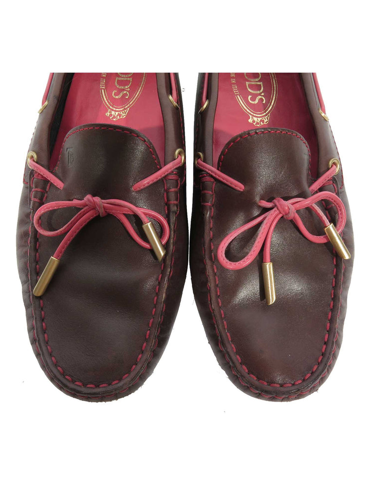Tod's Gommino Driving Leather Loafers