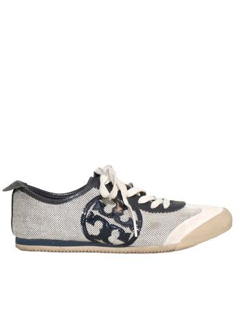 Tory Burch Logo Sneakers