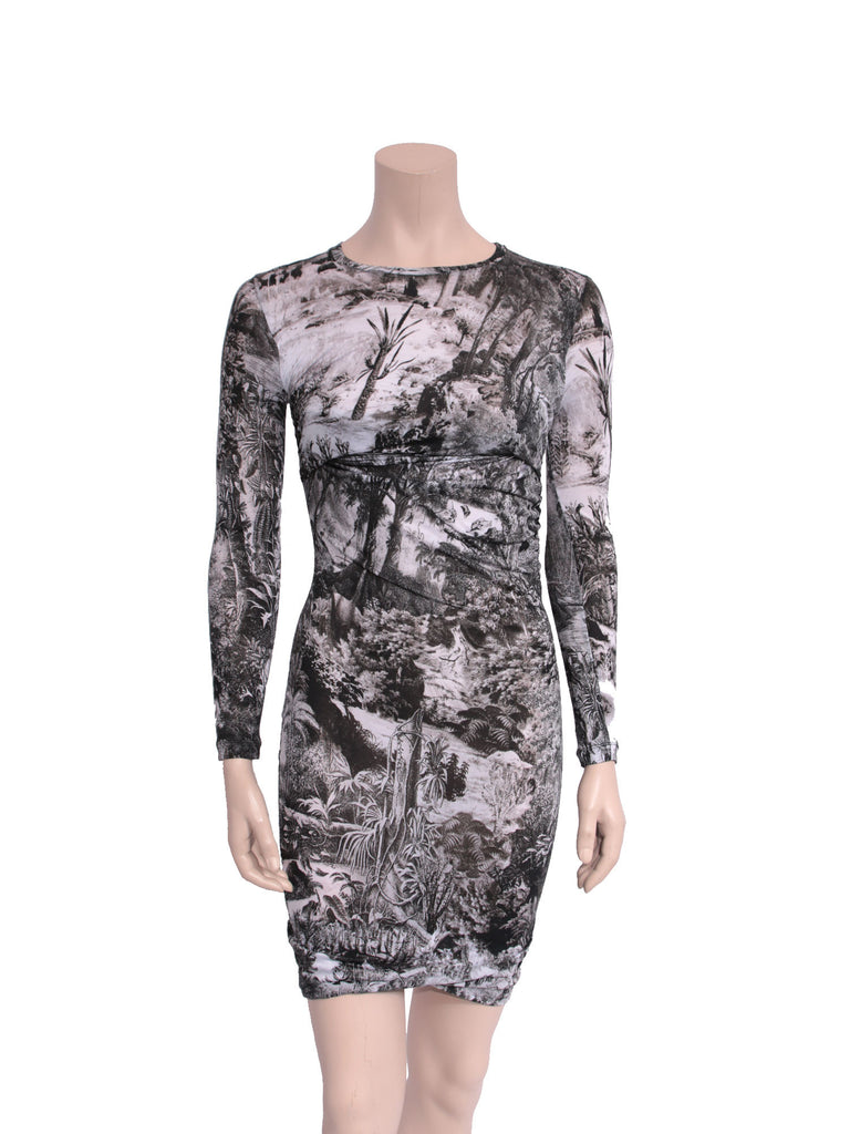 Carven Printed Dress
