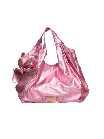 Valentino Nuage Metallic Bow Bag