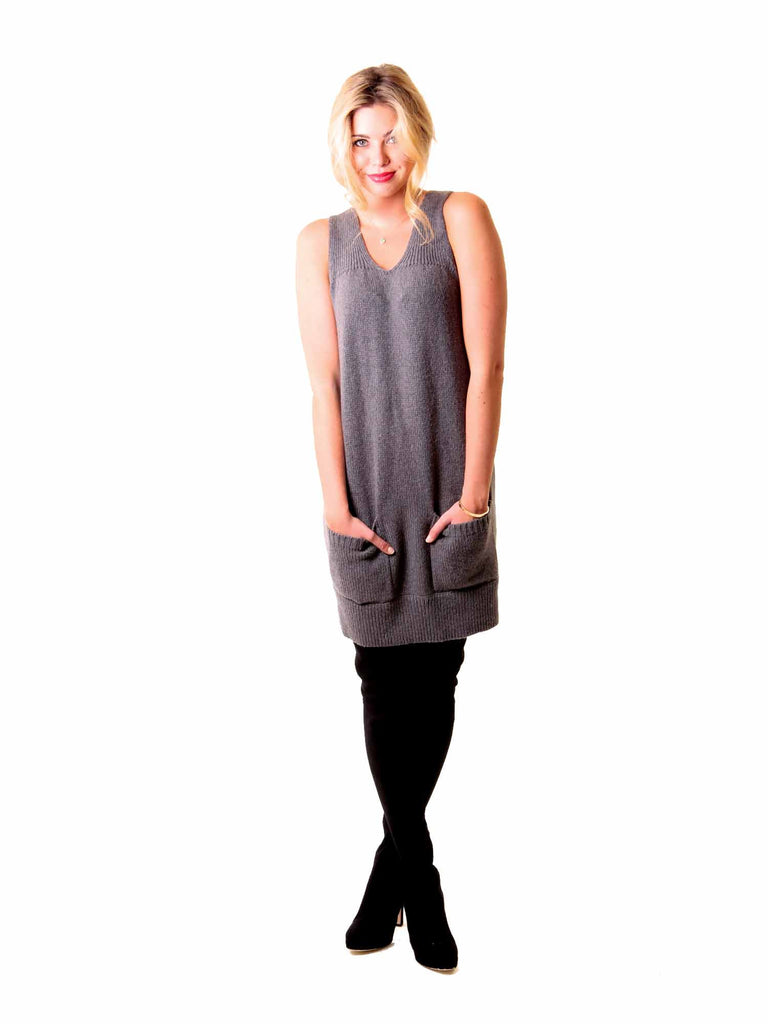 Vince Knit Sleeveless Dress