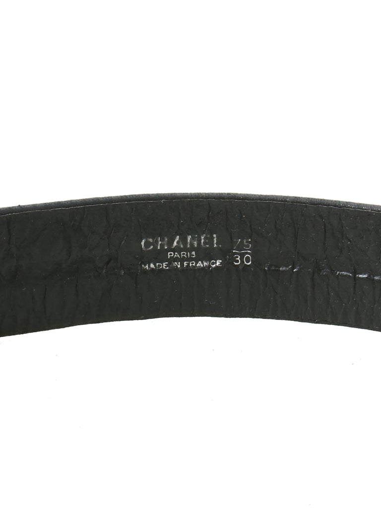 Chanel Vintage Quilted Leather Waist Belt