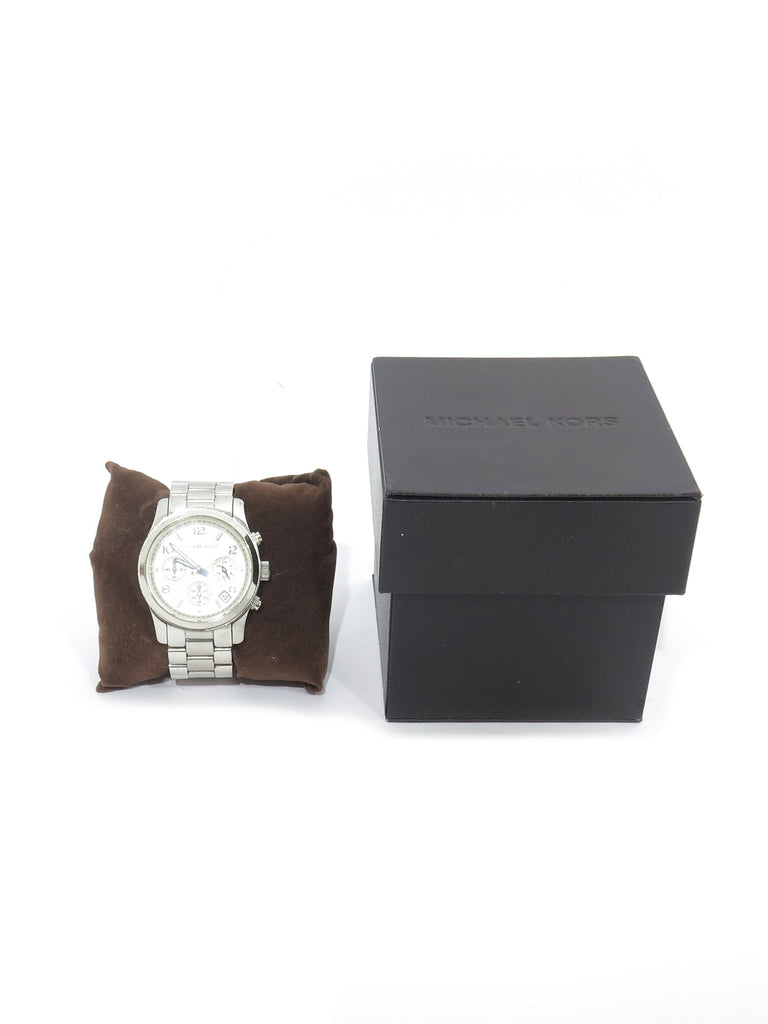 Michael Kors Runway Silver-Tone Watch