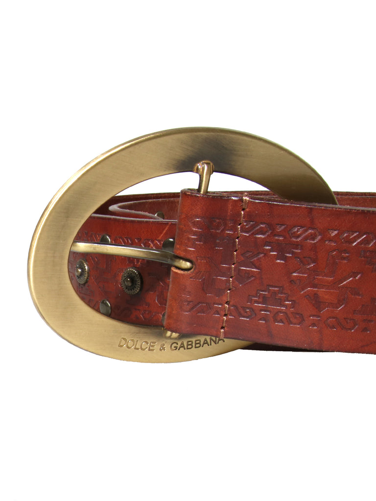 Dolce & Gabbana Leather Belt