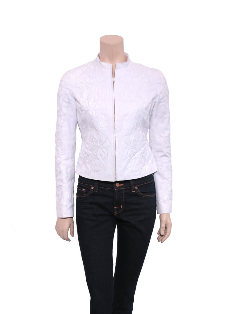 Catharine Malandrino Embroidered Jacket