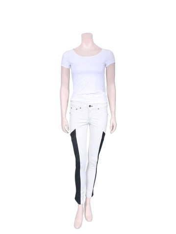 Rag & Bone Colorblock Skinny Jeans