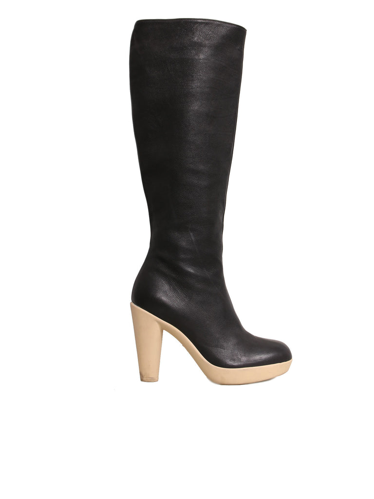Lanvin Tall Leather Boots