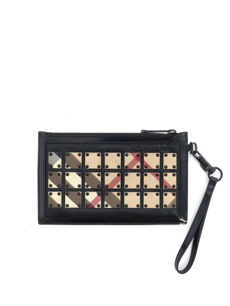 Burberry Nova Check Clutch