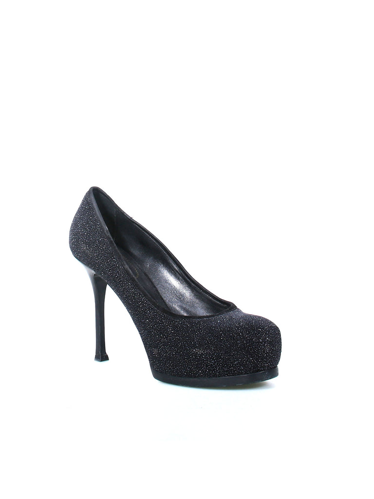 Yves Saint Laurent Tribute Two Glitter Pumps