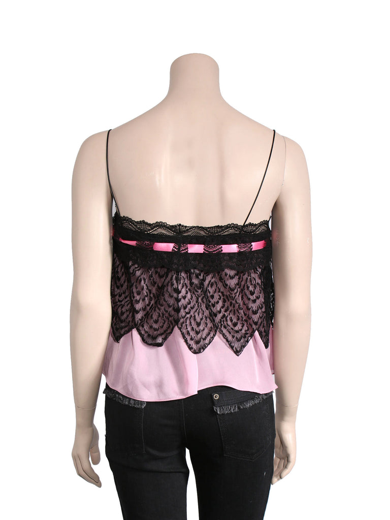 Yves Saint Laurent Silk Lace Top