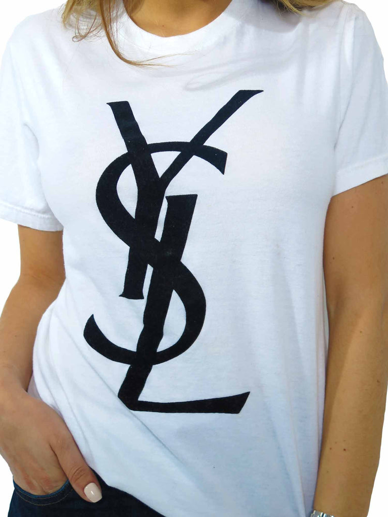 Yves Saint Laurent Logo T-Shirt