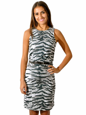 MICHAEL Michael Kors Zebra Shift Dress