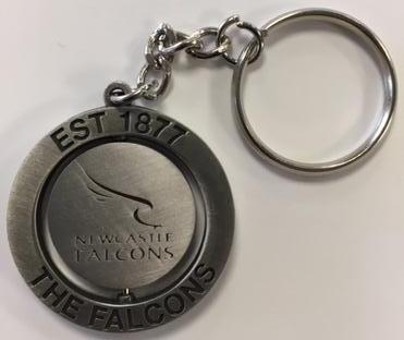 Falcons 1877 Spinning Keyring