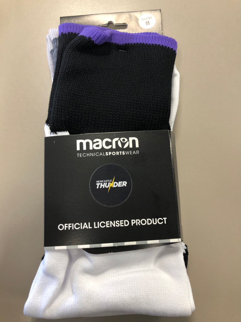 Macron  Newcastle Thunder Away Socks Adult