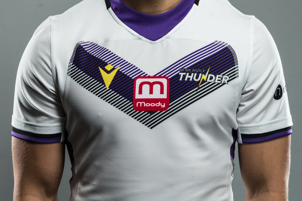 Newcastle Thunder Macron 20/21 Season Junior Replica Away Shirt