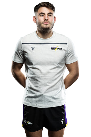 Newcastle Thunder Travel T-Shirt- Macron 19/20 Season