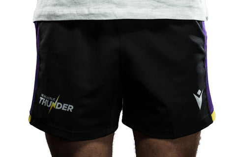 Macron Newcastle Thunder Match Day Home Shorts Junior
