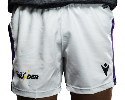 Macron Newcastle Thunder Match Day Away Shorts Junior