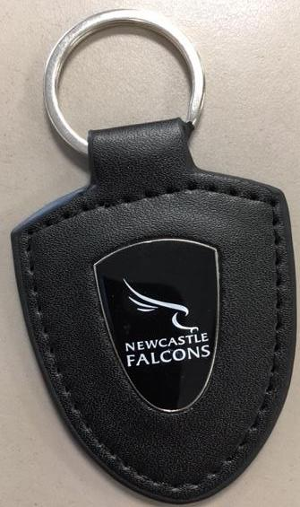 Falcons Leather  Keyring