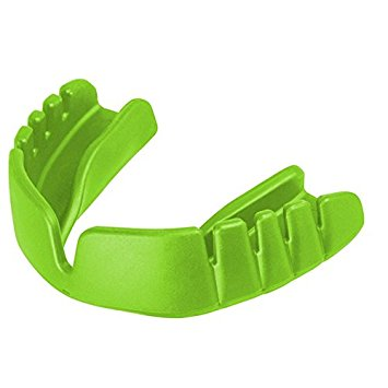 Opro Snap fit Mouthguard - Green - Junior