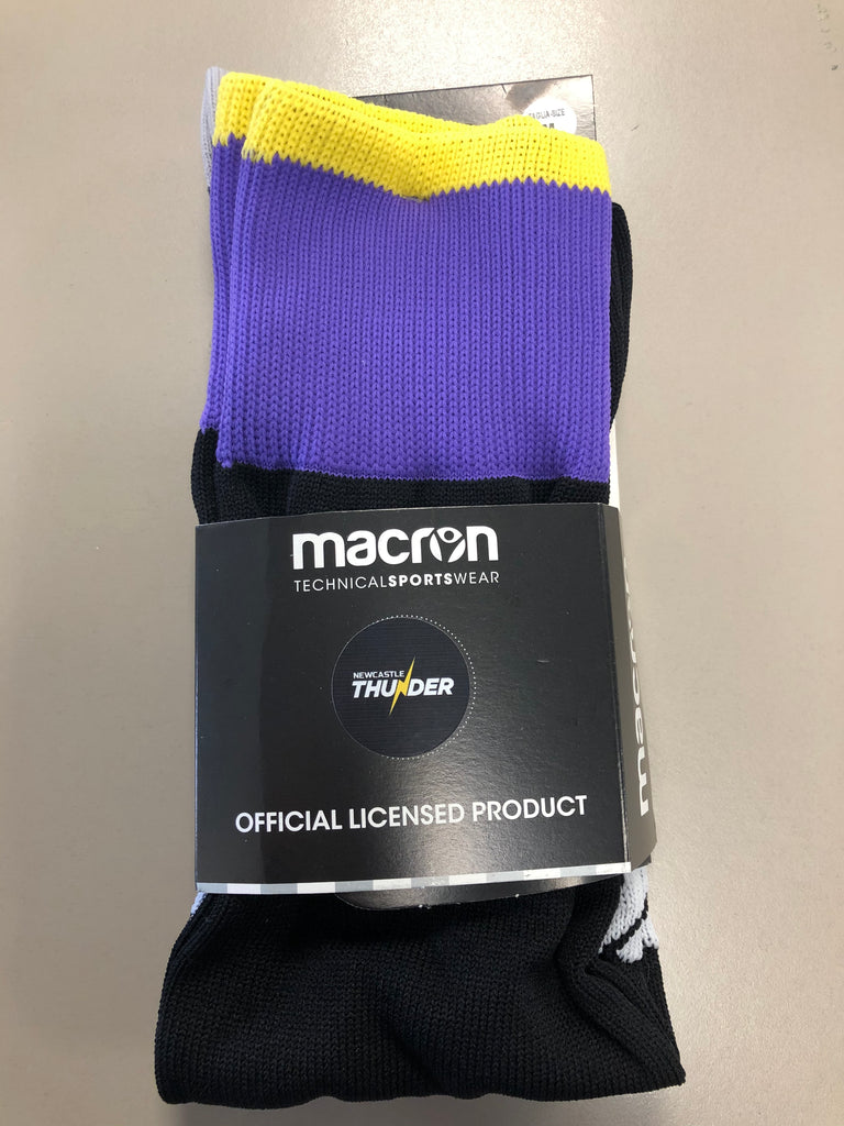 Macron Newcastle Thunder Home Socks Adult