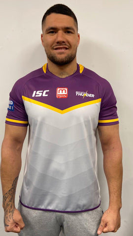 Newcastle Thunder Junior Away Shirt