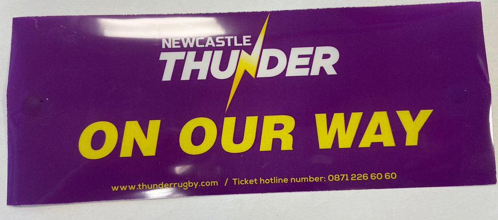 Newcastle Thunder Car Sticker