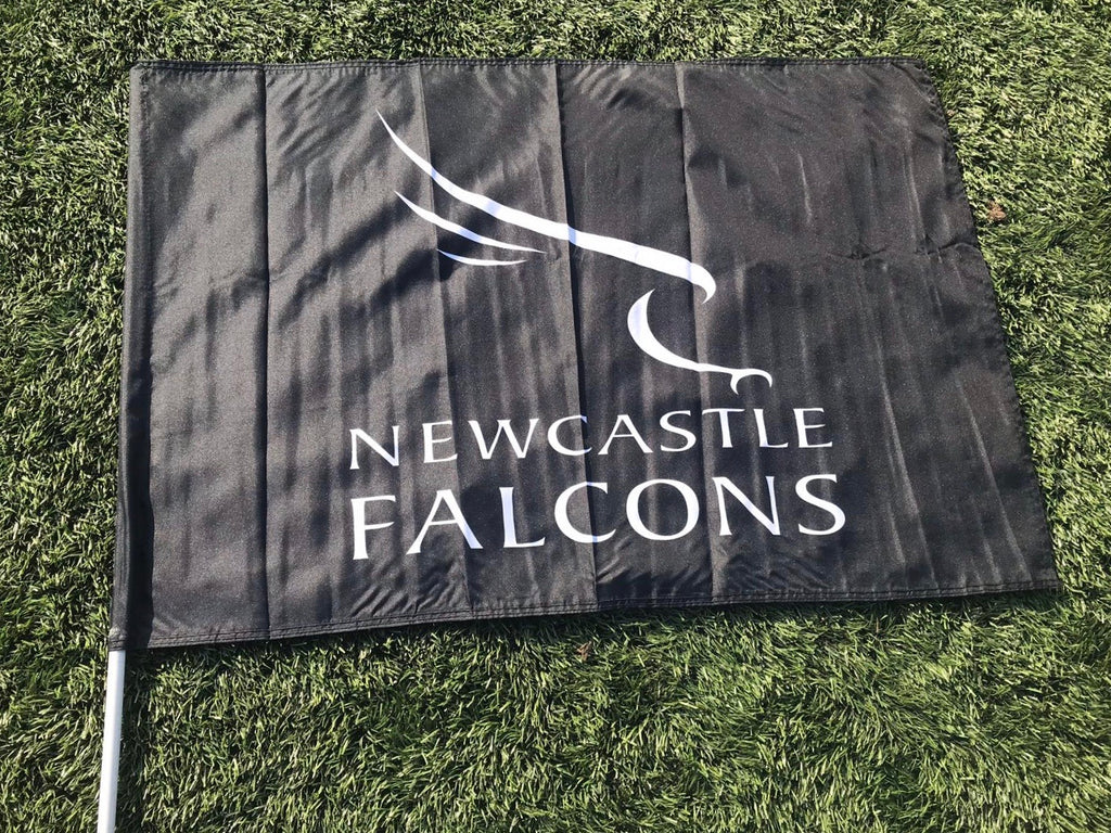 Newcastle Falcons Flag