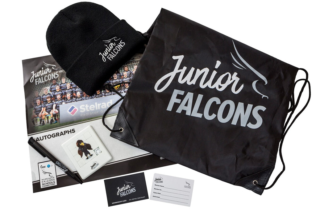 Junior Falcons Membership - Welcome Pack