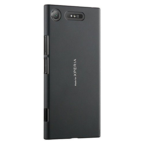 Official Roxfit Sony Xperia XZ1 - Ultra Slim Soft Touch Shell - Form Fitting Hard Construction with Colour Match to Handset. Certified Made for Xperia. (Black)