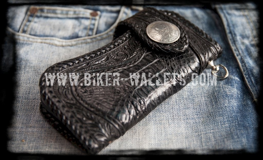 Are you looking to buy a new handmade biker wallet?