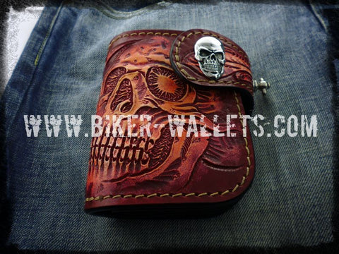 biker trucker chain wallet