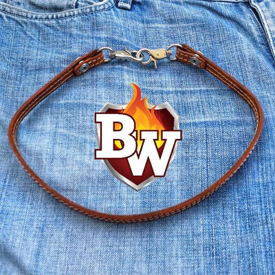 Natural Straps Leather Biker Wallet Strap Lanyards | Custom Handmade Men's Leather Wallets at Biker-Wallets.com