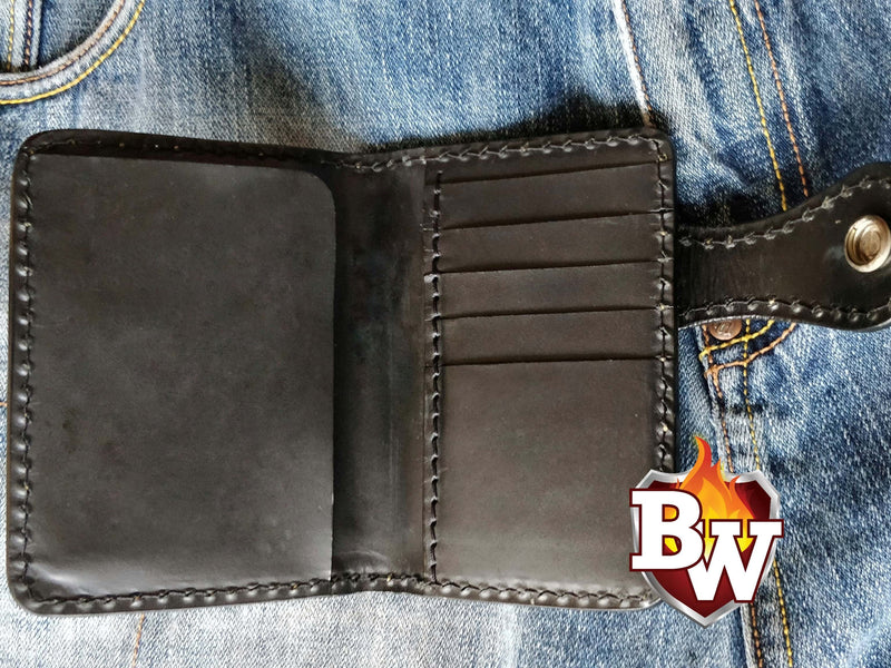 """Desert Eagle Passport"" 5"" Passport Biker Wallet"