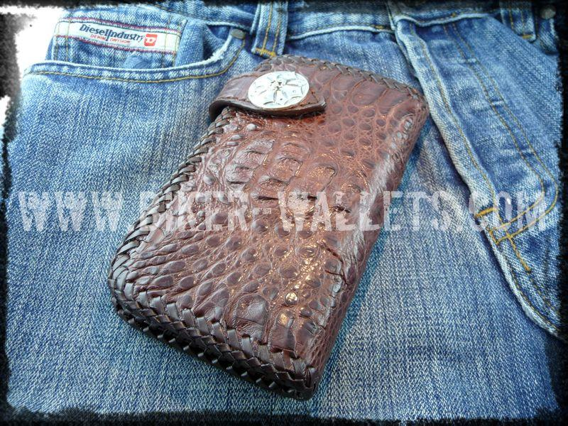 Dundee 6 Custom Handmade Men's Biker Chain Wallet - Handcrafted Quality Genine Leather Backed by a 5-Year Warranty - Biker-Wallets.com