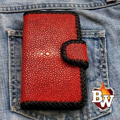 iPhone Biker Wallet Case | Custom Handmade Men's Leather Wallets at Biker-Wallets.com