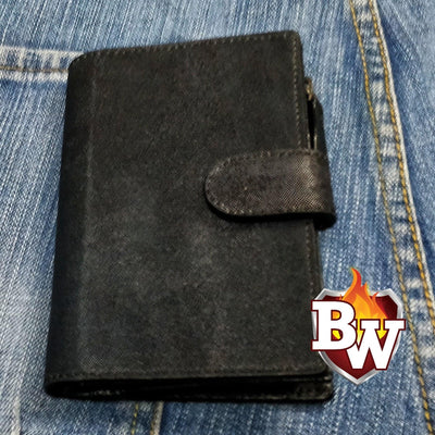 John Wick 5-inch Hammerhead Shark Skin and Italian Leather Biker Wallet | Custom Handmade Men's Leather Wallets at Biker-Wallets.com