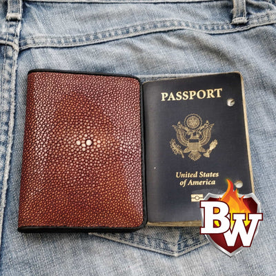 Passport 5-inch Stingray  Passport Men's Biker Wallet | Custom Handmade Men's Leather Wallets at Biker-Wallets.com