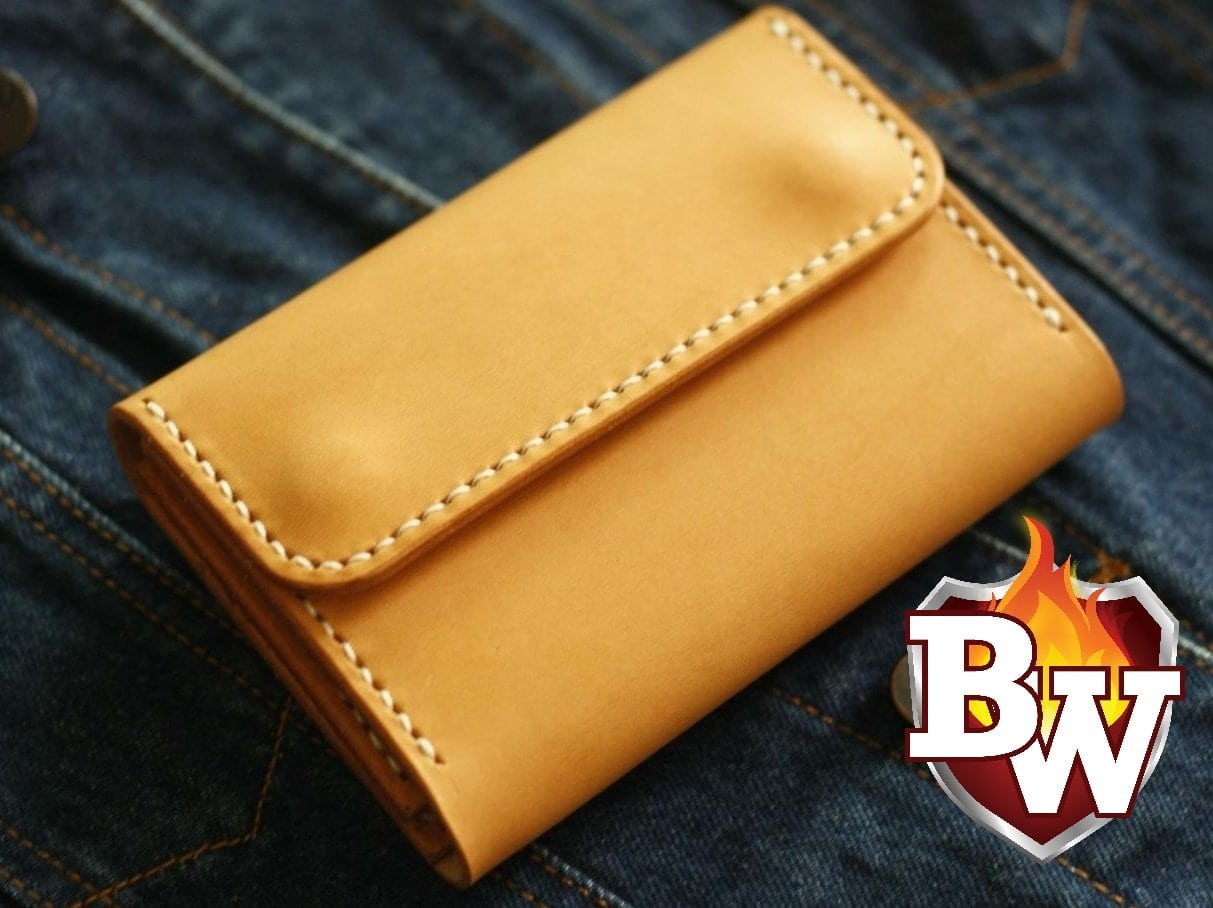 SAVAGE 6-inch Italian Leather Biker Wallet | Custom Handmade Men's Leather Wallets at Biker-Wallets.com