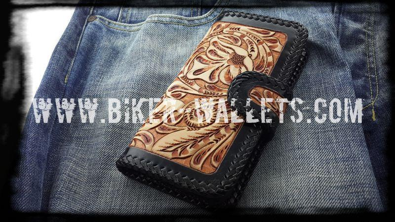 """Western Rider"" Leather Hand Tooled Cellphone Case iPhone"