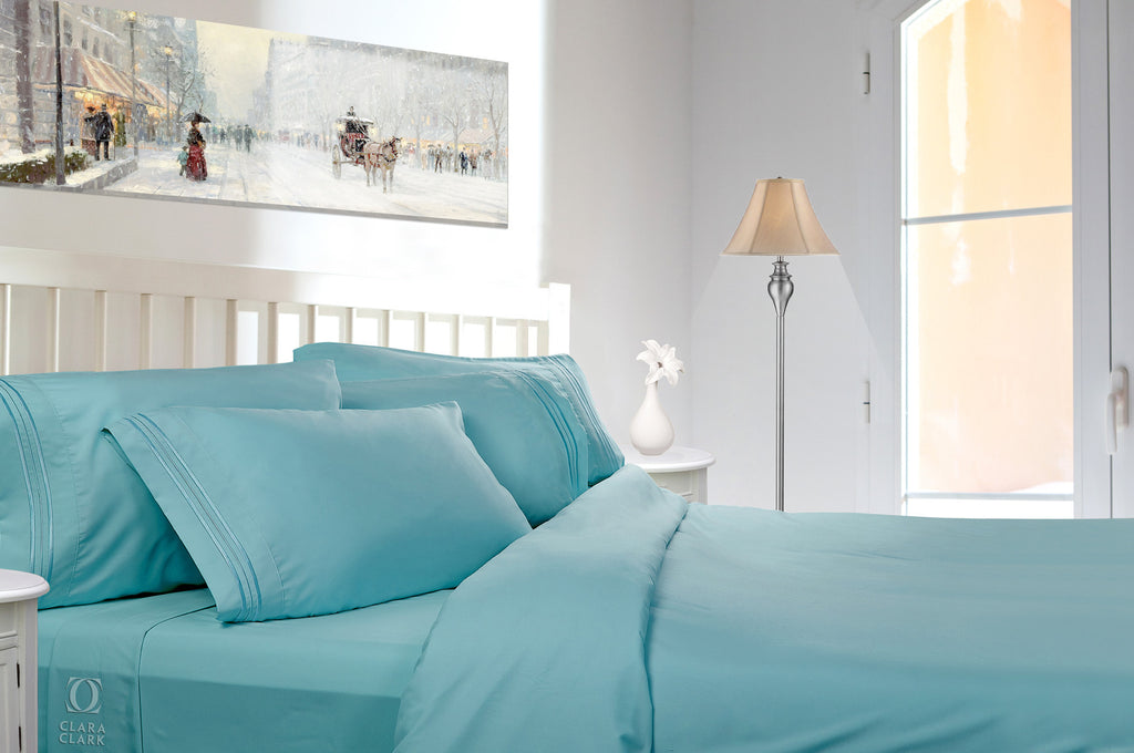 Full Size Luxury Bed Sheet Set. Highest Quality 1800 Thread Count Linens.  Reg $119