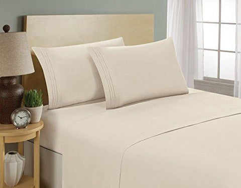 Beau ... California King 1800 Thread Count Highest Quality Egyptian Bed Sheets.  Reg $129, Now On ...