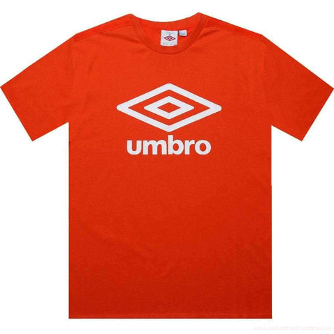 Youth Umbro Large Logo Tee (Red/White)