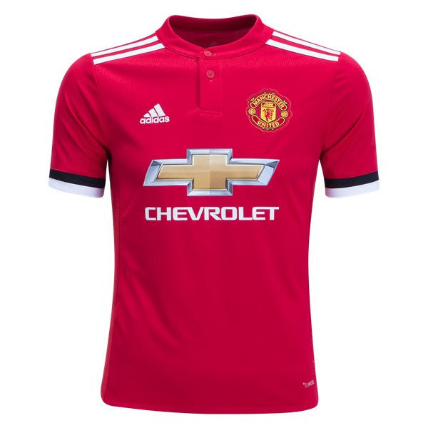 Adidas Manchester United 17/18 Home Youth Jersey - We Are Soccer Inc.