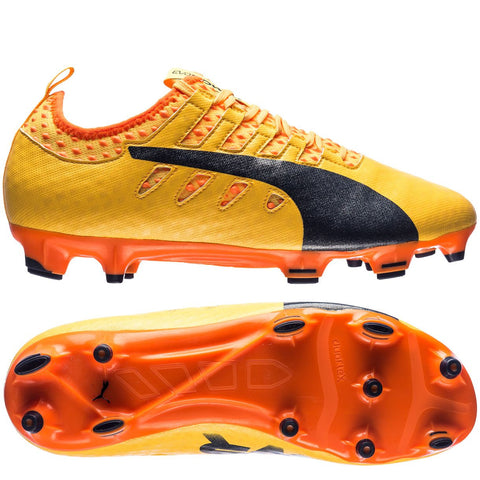Puma evoPOWER Vigor 2 FG(Ultra Yellow/Peacoat/Orange Clownfish)
