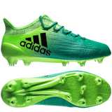 Adidas X 16.1 FG/AG (Solar Green/Core Black) - We Are Soccer Inc.