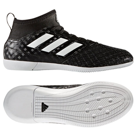 Adidas Adidas Ace 17.3 IN J (Black/White) - We Are Soccer Inc.