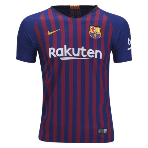 FC Barcelona 2018/19 Youth Home Jersey