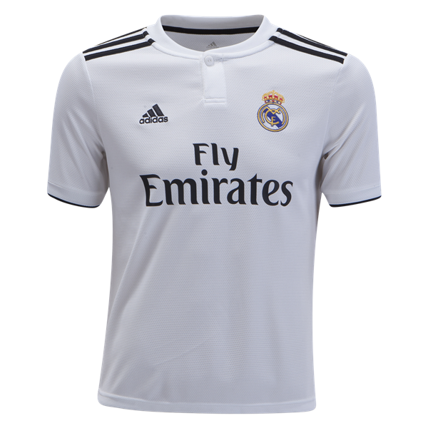 Real Madrid 2018/19 Youth Home Jersey